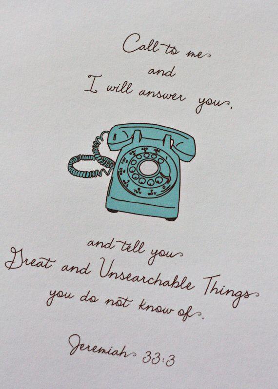 call to me.