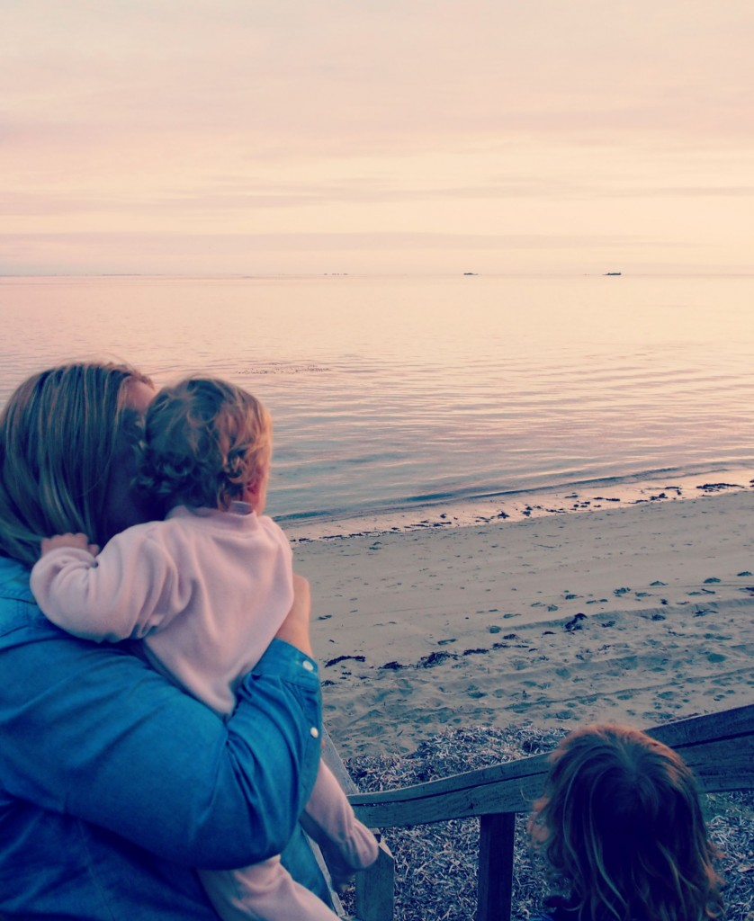 beach, family, future