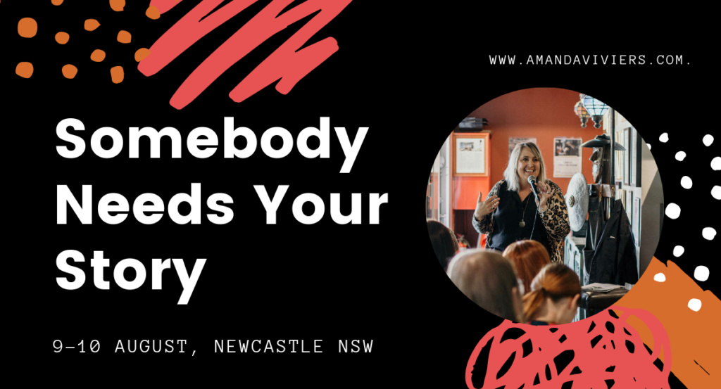 Newcastle writing Events with Amanda Viviers at INNX